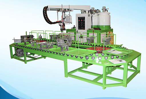 new pu shoe-making machine